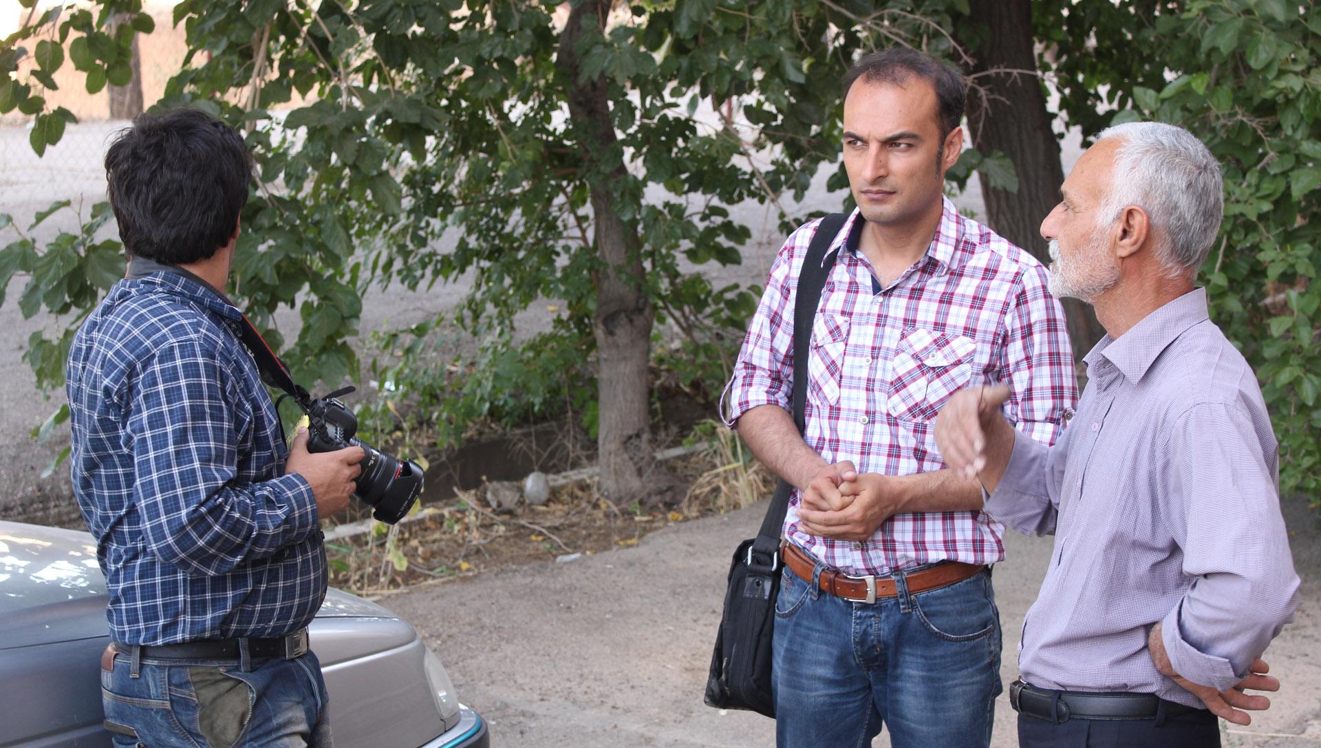 محسن مقدم و امید شریفی شرکت فیلم سازی زوم شیراز