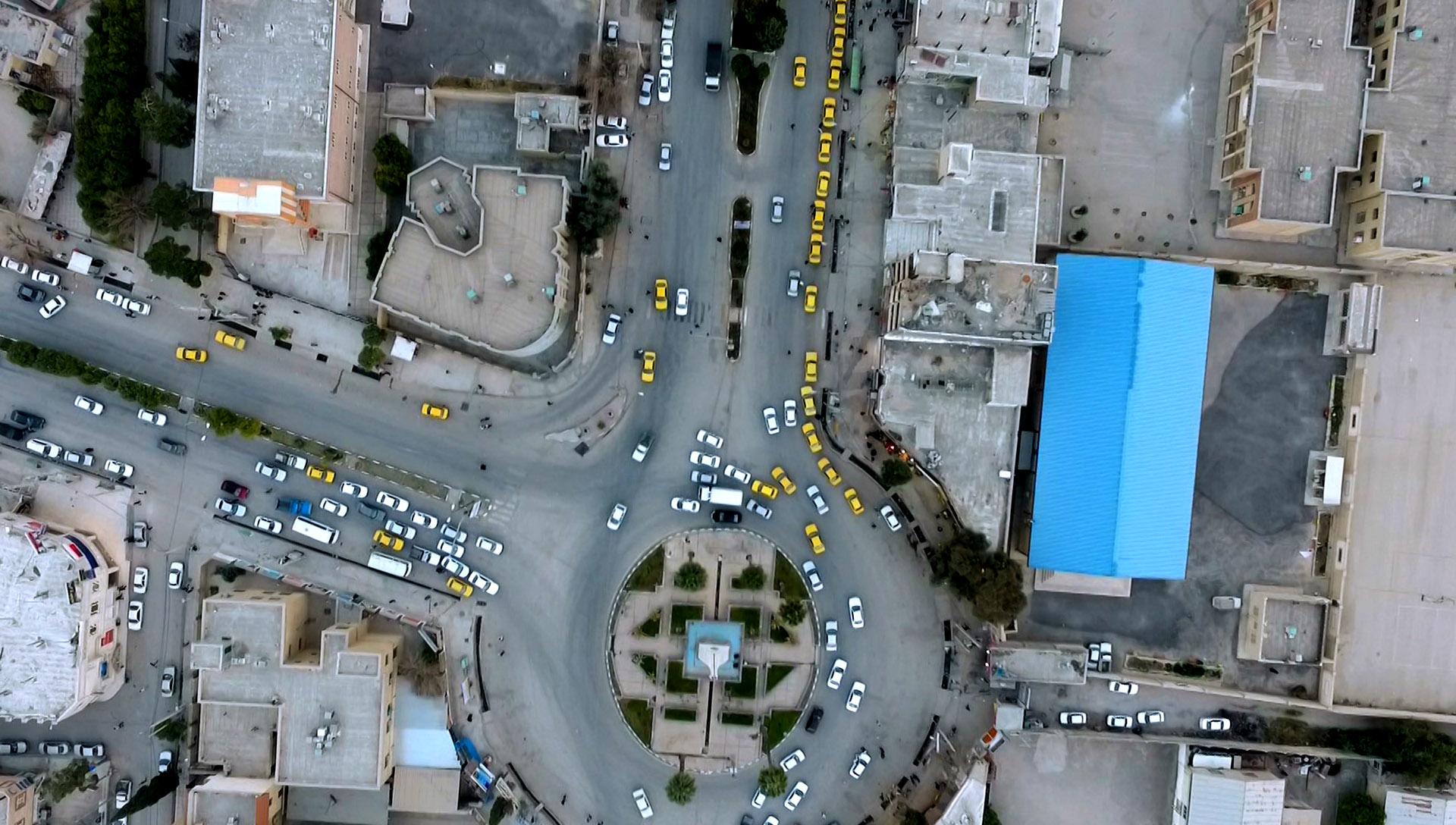 تصویربرداری هوایی - هلی شات در شیراز