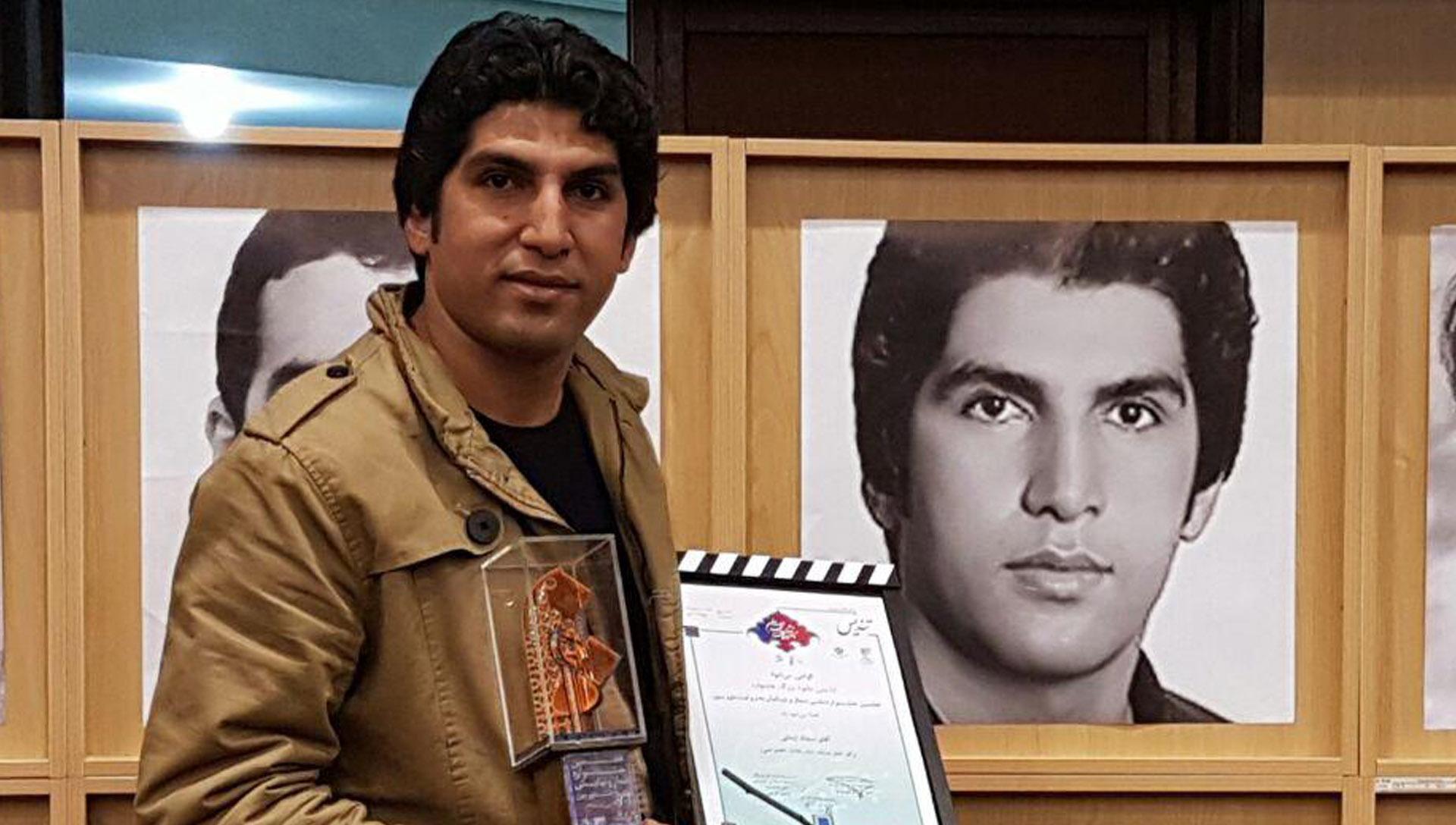 سجاد ایمانی کارگردان سیاه زخم