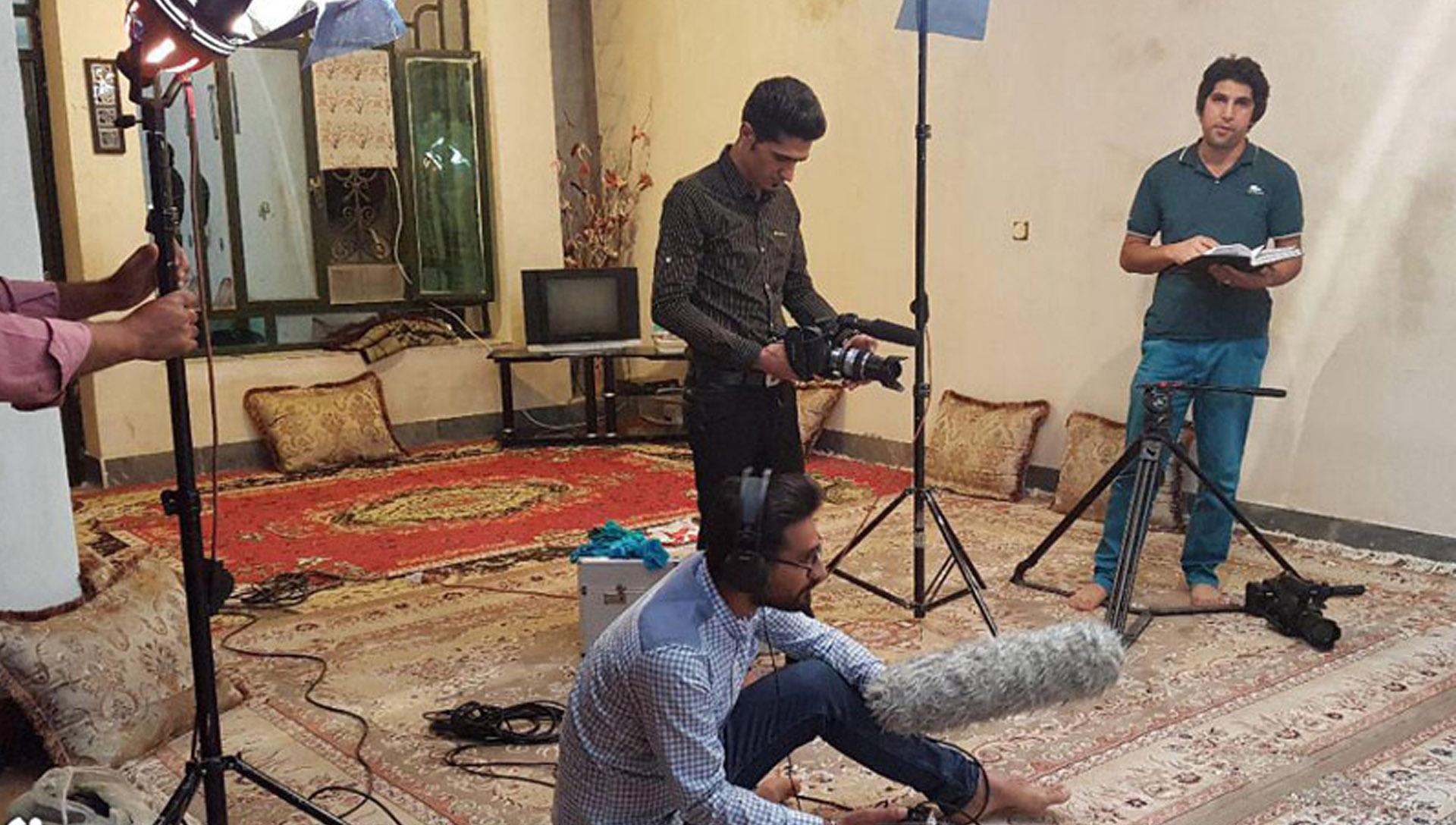 پشت صحنه مستند سیاه زخم 08